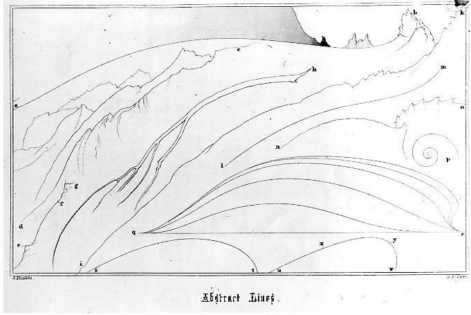 Ruskin, abstract lines