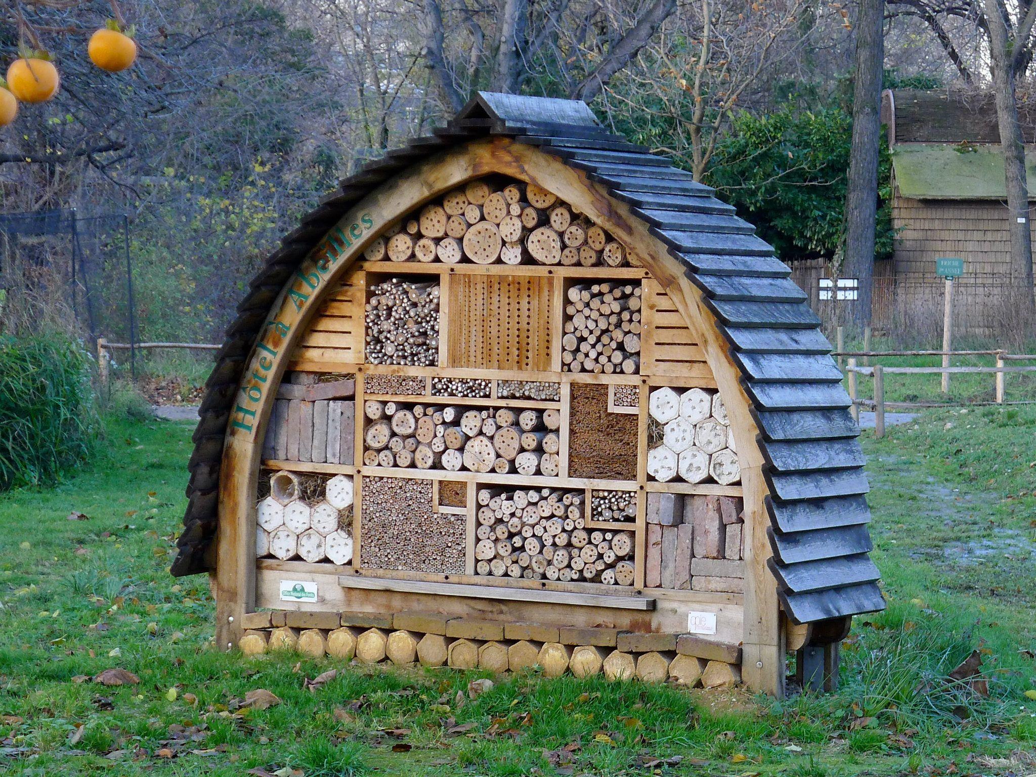 Insect house Jardin des Plantes Paris France