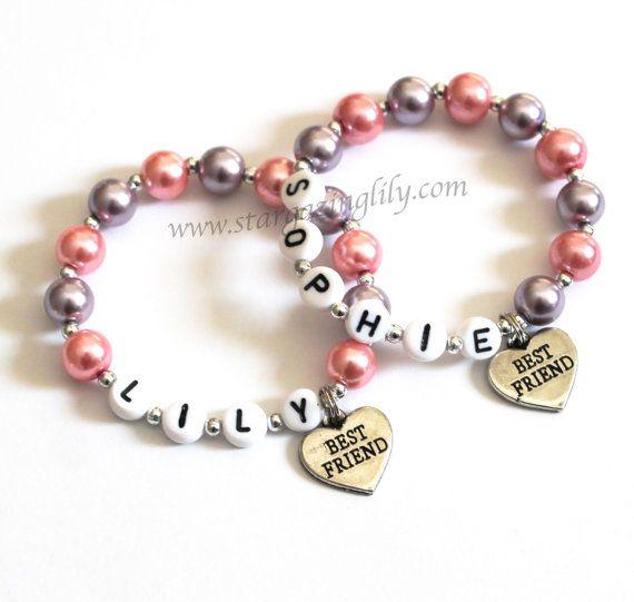 Best Friends Children S Charm Bracelets Child By Stargazinglily 9 00