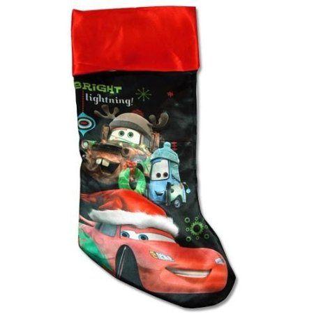 Disney Cars Christmas Stocking