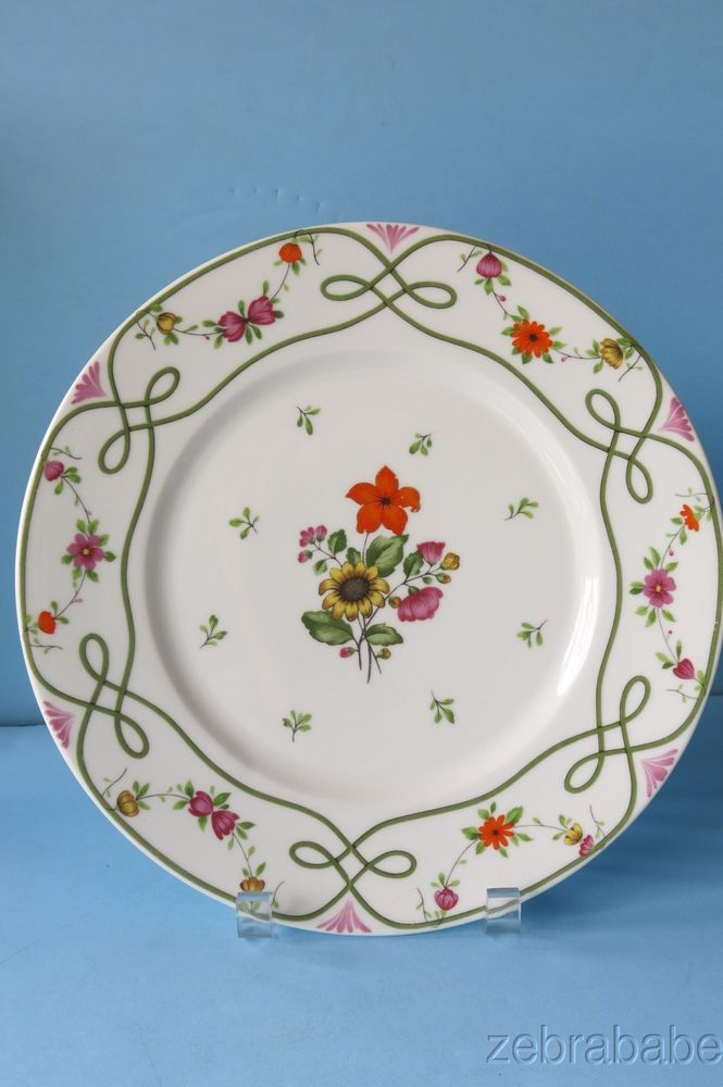 Raynaud Ceralene Limoges Guirlandes Dinner Plate | Pottery patterns ...