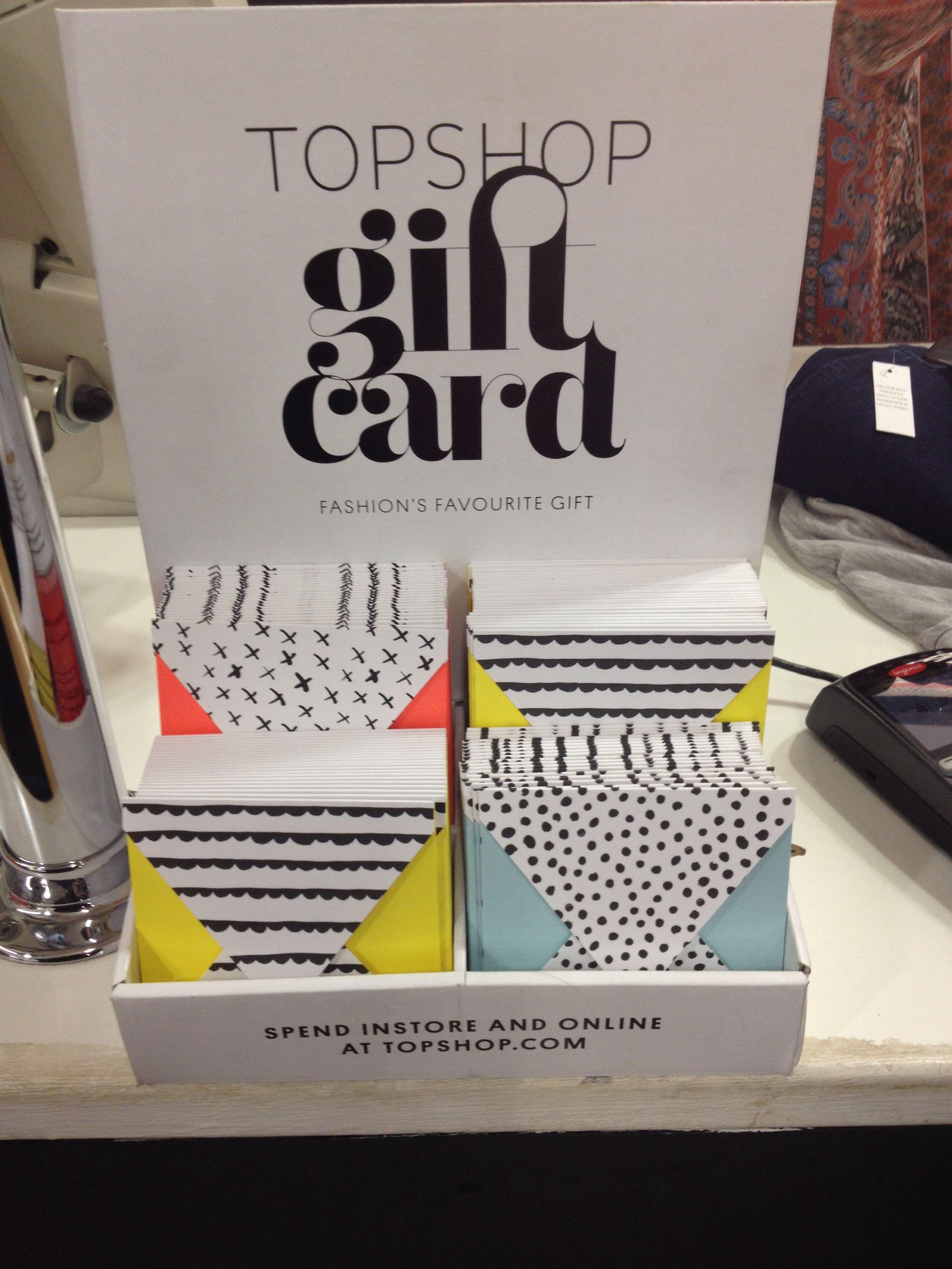 Topshop Gift Card Standard Love Top Shop Graphics