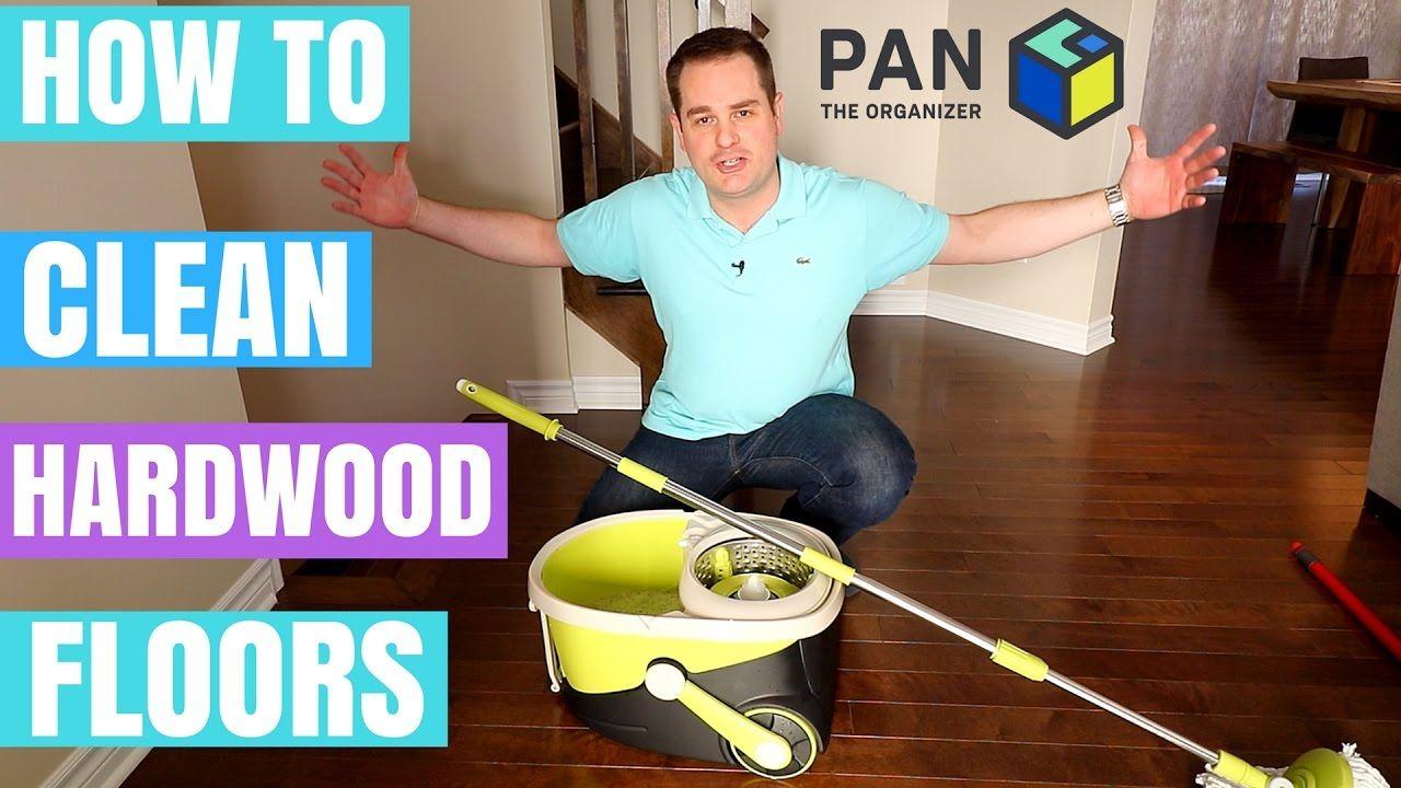 How to clean hardwood floors mopnado spin mop