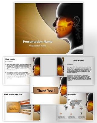 Maxillofacial Powerpoint Template Is One Of The Best Powerpoint