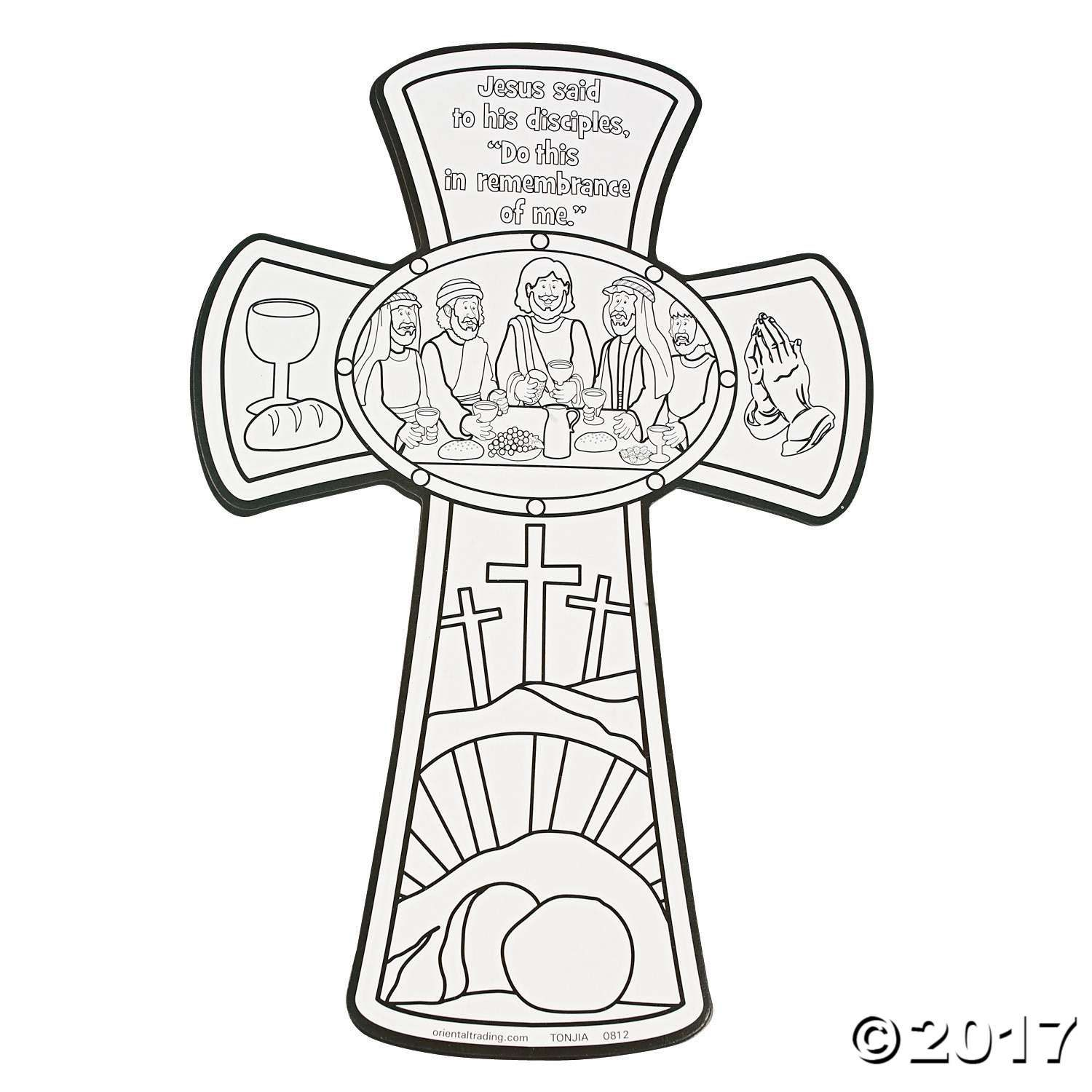 Easter is coming fast, and these Color Your Own Last ...