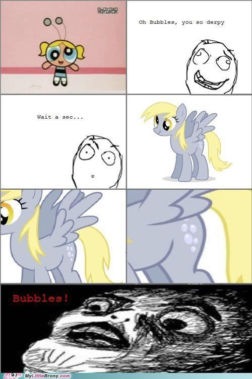 My little pony friendship is magic derpy bubbles mlp dr le dessin anim et anime - My little pony dessin anime ...