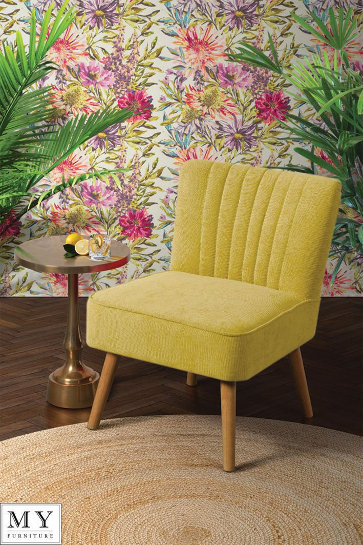 Details about Oyster Retro Occasional Upholstered Chair ...
