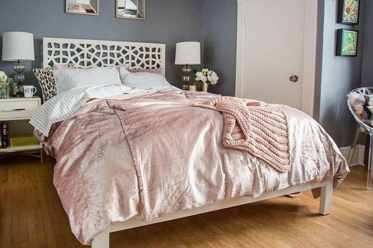 Shop Washed Luster Velvet Duvet Cover Shams Horizontal