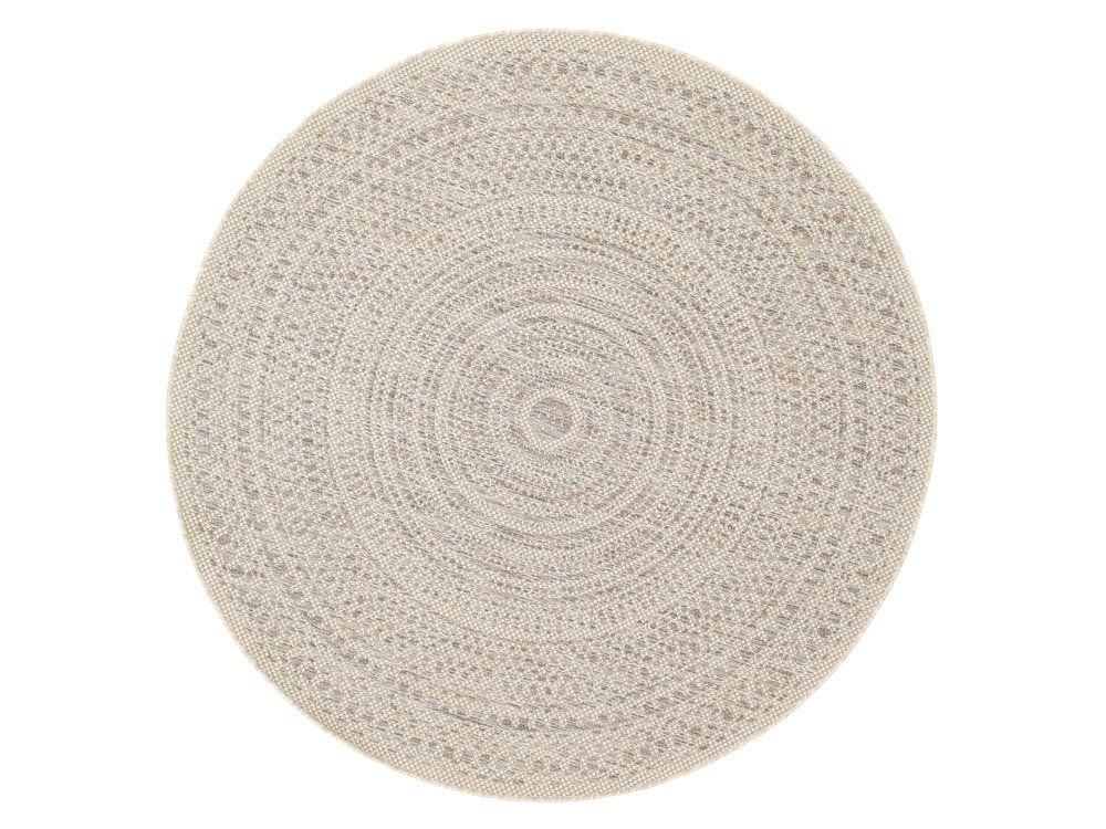 100 Polypropylene Motif Spirale Geometrique Finition Utilisable En Interieur Et En Exterieur Tres Resistant Tapis Rond Tapis Beige Tapis Jonc De Mer Rond