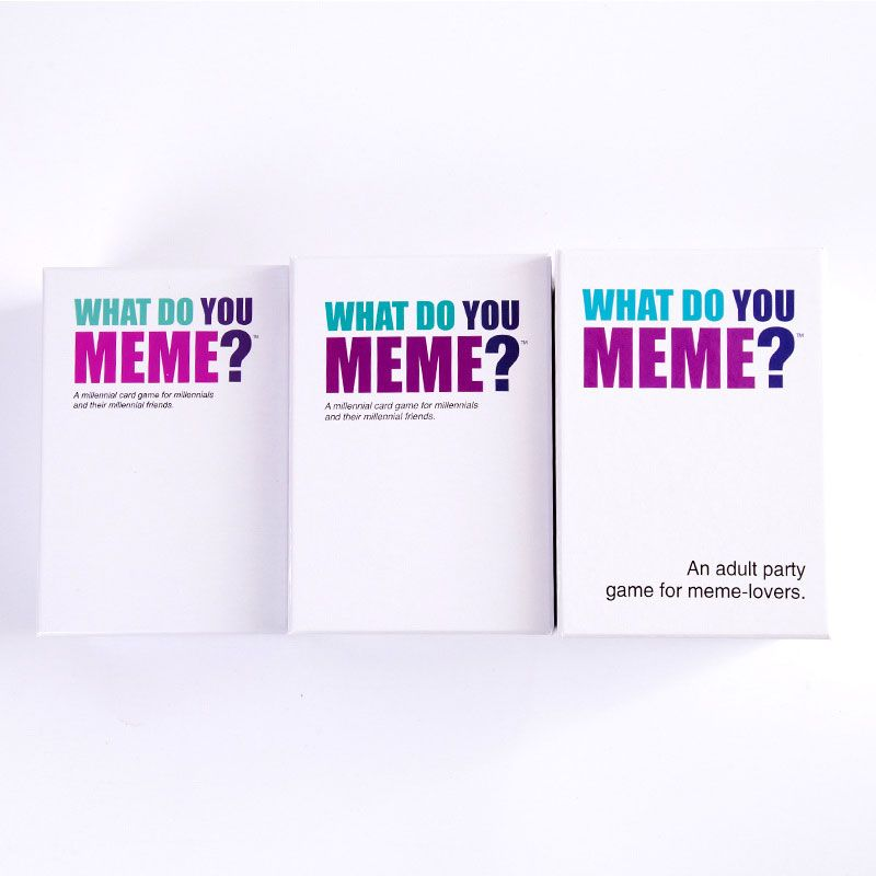 Adult Party Cards Board Game Toys YOU MEME First ...