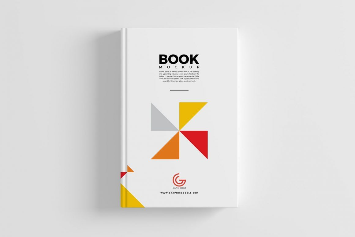 Free Book Cover Mockup Psd For Branding Book Cover Mockup Book Cover Design Inspiration Book Cover