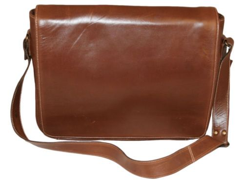 Mens Leather Laptop Messenger Bag Chestnut Brown | Mens_leather ...