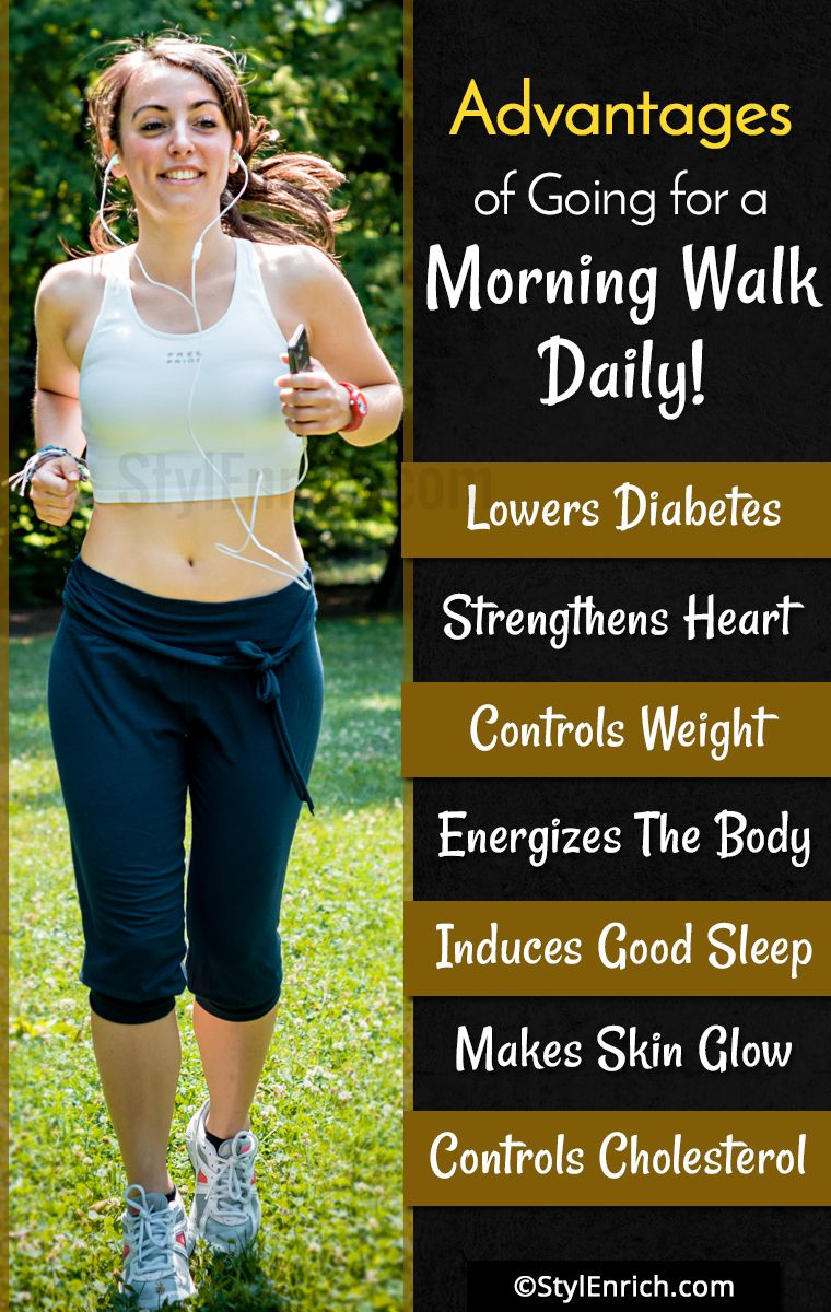 paragraph on benefits of morning walk