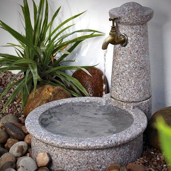 Water Features For Dogs Granite Tap Amp Bowl Water Feature