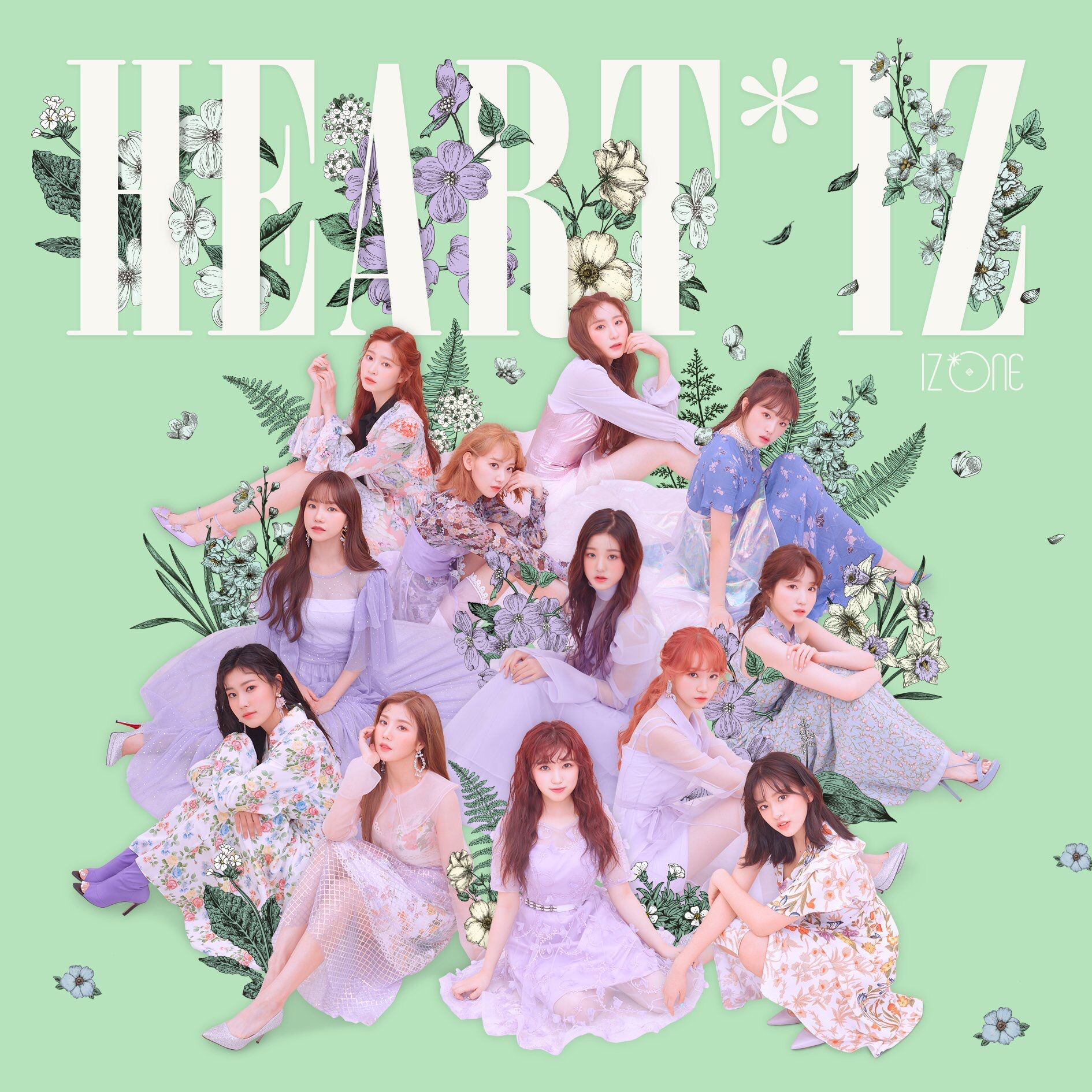 IZONE (#아이즈원) - 2nd Mini Album [HEART*IZ] COVER IMAGE