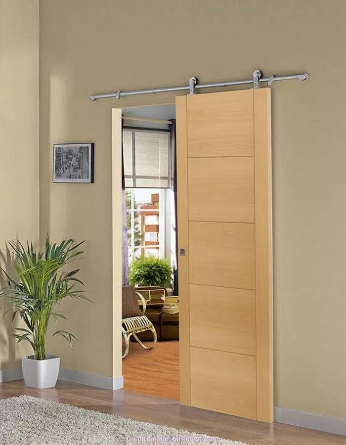 45 ไอเด ย ประต แขวนบานเล อน ประต โมเด ร นผสมคลาสส ก สวยงามม เอกล กษณ คนร กบ าน Wood Doors Interior Sliding Door Design Door Design