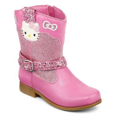 50a6356684f3d Hello Kitty cowboy boot designed by Heather Lee Allen for JCPenney. To view  more of