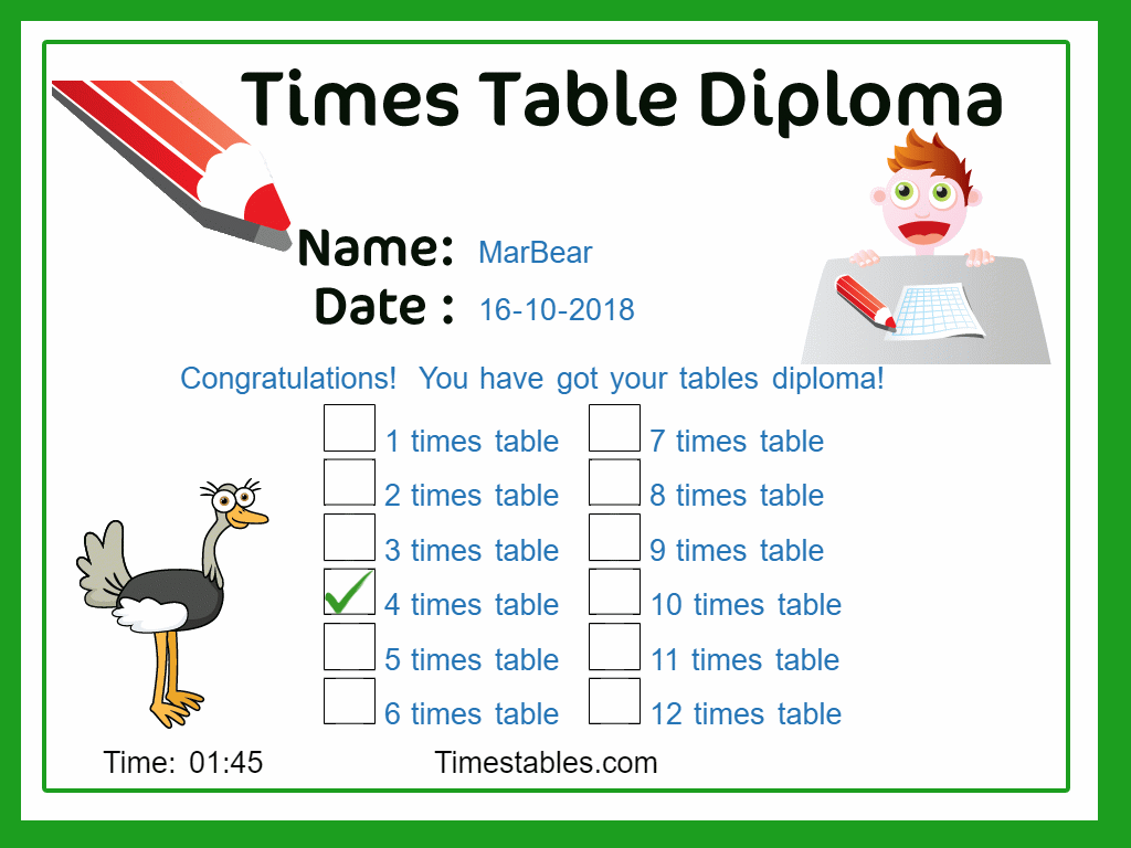 Pin On Times Tables