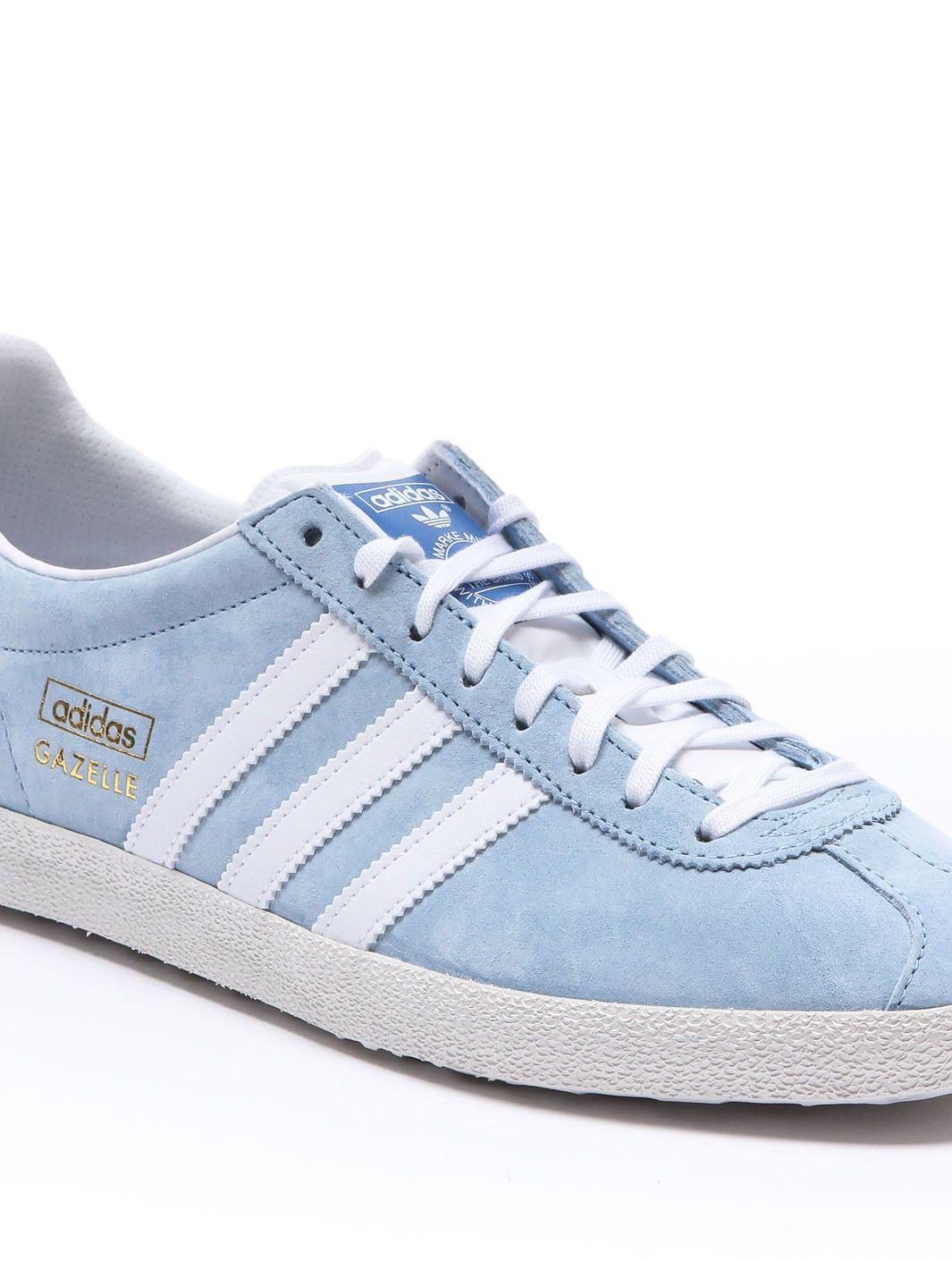 adidas originals gazelle light blue