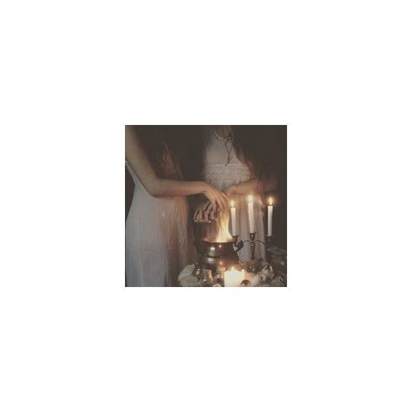 Fire Witch ❤ liked on Polyvore featuring home, home decor and - witch decorations