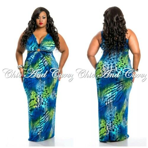 9896bca622fa Pretty Thick Girl Fashion, Trendy Fashion, Plus Size Fashion, Plus Size  Long Dresses