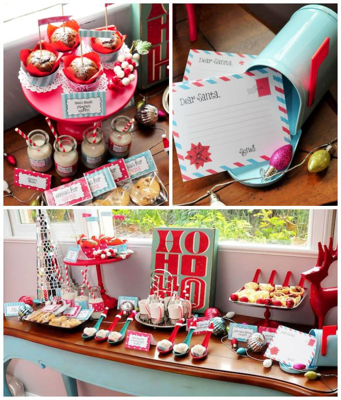 Ordinary Retro Christmas Party Ideas Part - 4: Retro Playful Christmas Party Via Karau0027s Party Ideas | KarasPartyIdeas.com  ...