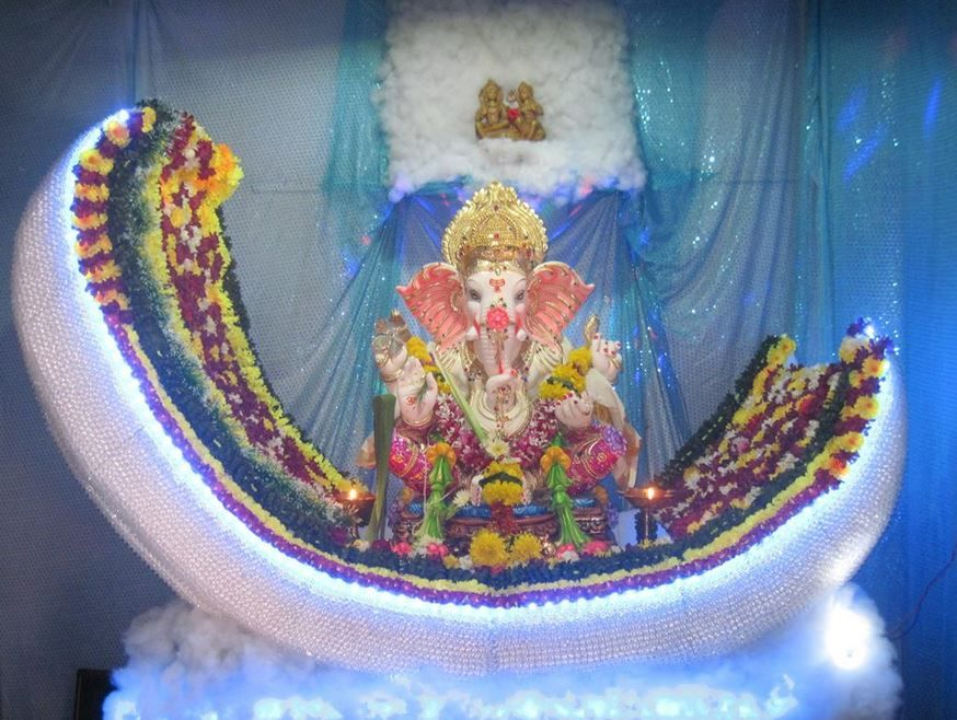 25 Ganpati Decoration Ideas at Home with