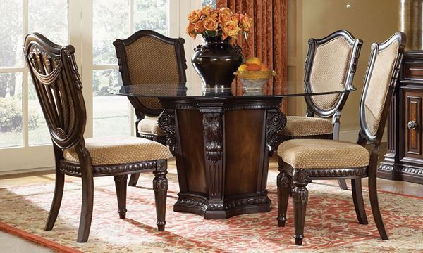 Fairmont Designs Grand Estates Pedestal Table Dining Set ...