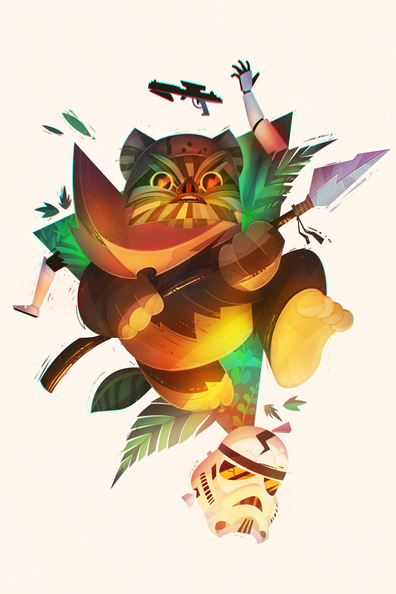 Ewok-  by Lerms