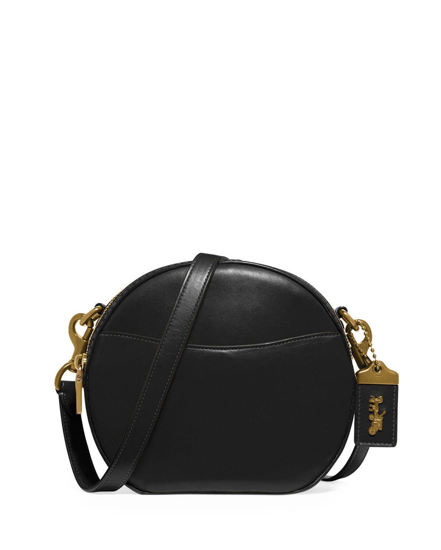 COACH Glovetan Leather Clutch w//Chain Strap