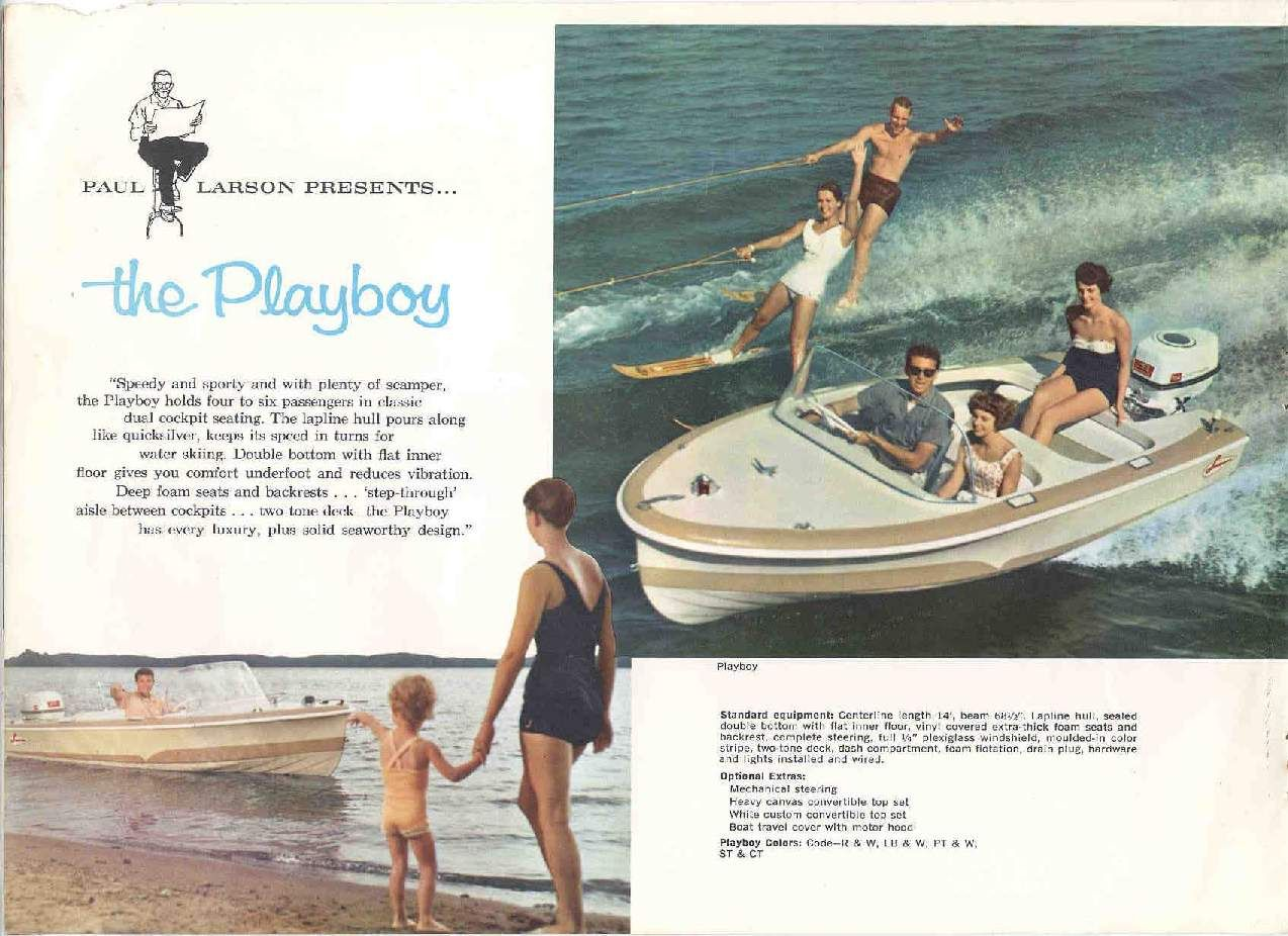 Larson Boat Wiring Diagram Free Download Diagrams Schematics For A Dock 1956 Playboy Classic Motors Lund 174sei
