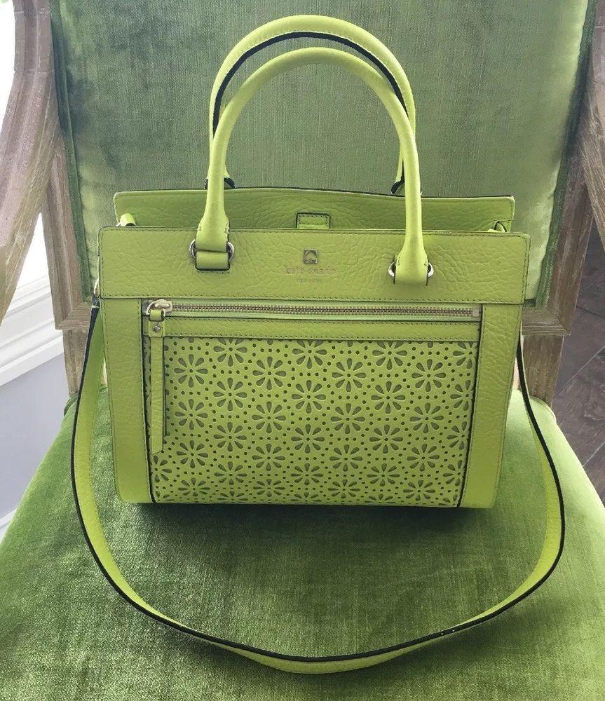 Kate Spade Handbag Lime Green Or Shoulder Bag