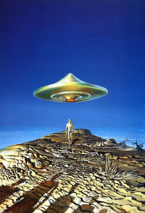Bruce Pennington - Flying Saucers | Flickr - Photo Sharing!