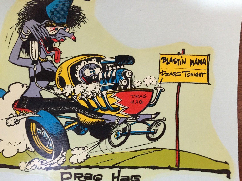 OLD NAG Funny Vinyl Decal Sticker E