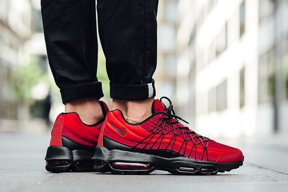 best cheap e21c1 f832d Nike Uses Three Shades of Red to Style the Air Max 95 Ultra SE - EU Kicks:  Sneaker Magazine
