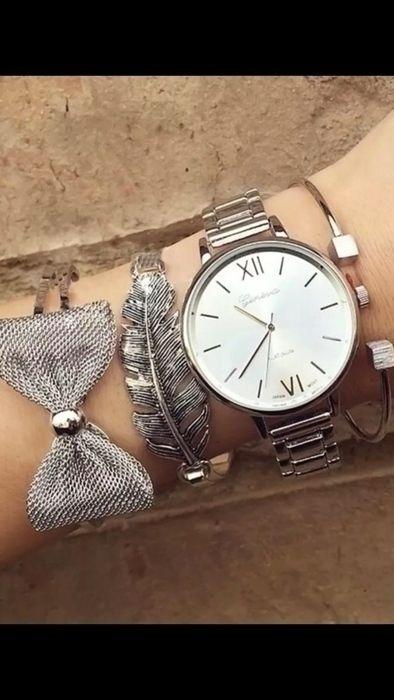 14667588f4 Damen | Uhr | Armbanduhr | Silber - Grau | Uhren | Armbanduhr damen ...