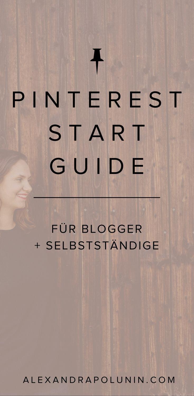 Neu auf Pinterest? Mit dem Pinterest Start Guide startest du als ...