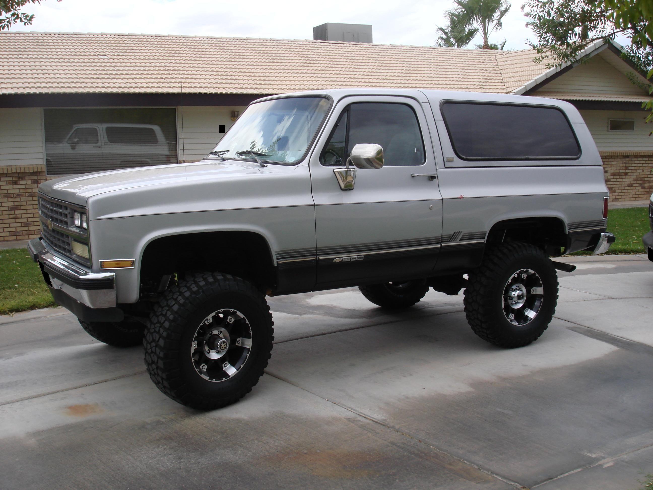 89 Chevy K5 Classic Chevy Trucks Chevrolet Blazer K5 Blazer
