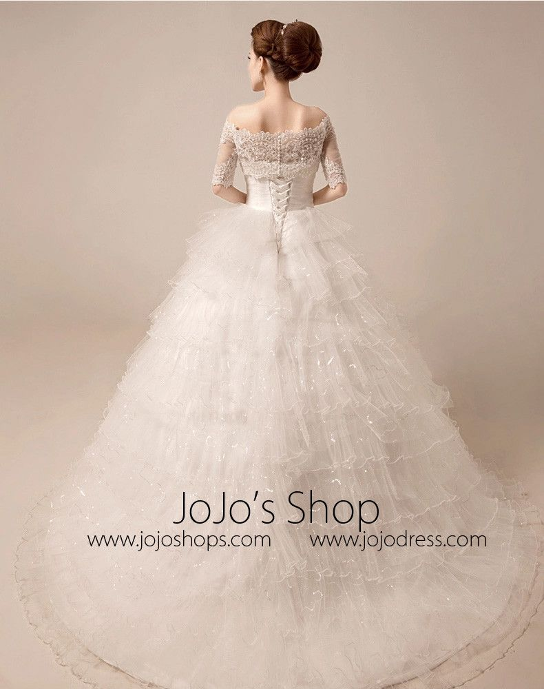piece tiered ball gown debutante wedding dress mx jb