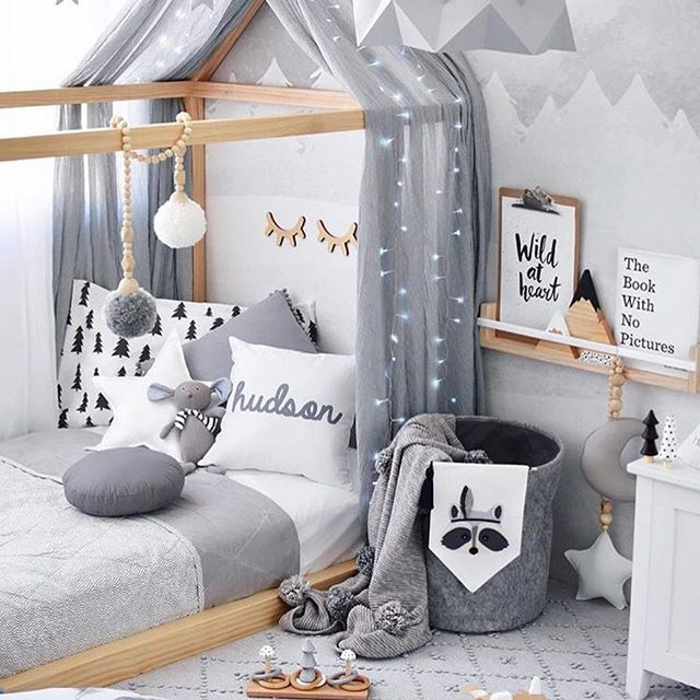 More Than Ever Parents Are Carrying The Latest Contemporary Design Ideas Into Their Kids Rooms From Soft Neutr Toddler Bedrooms Toddler Rooms Kid Room Decor