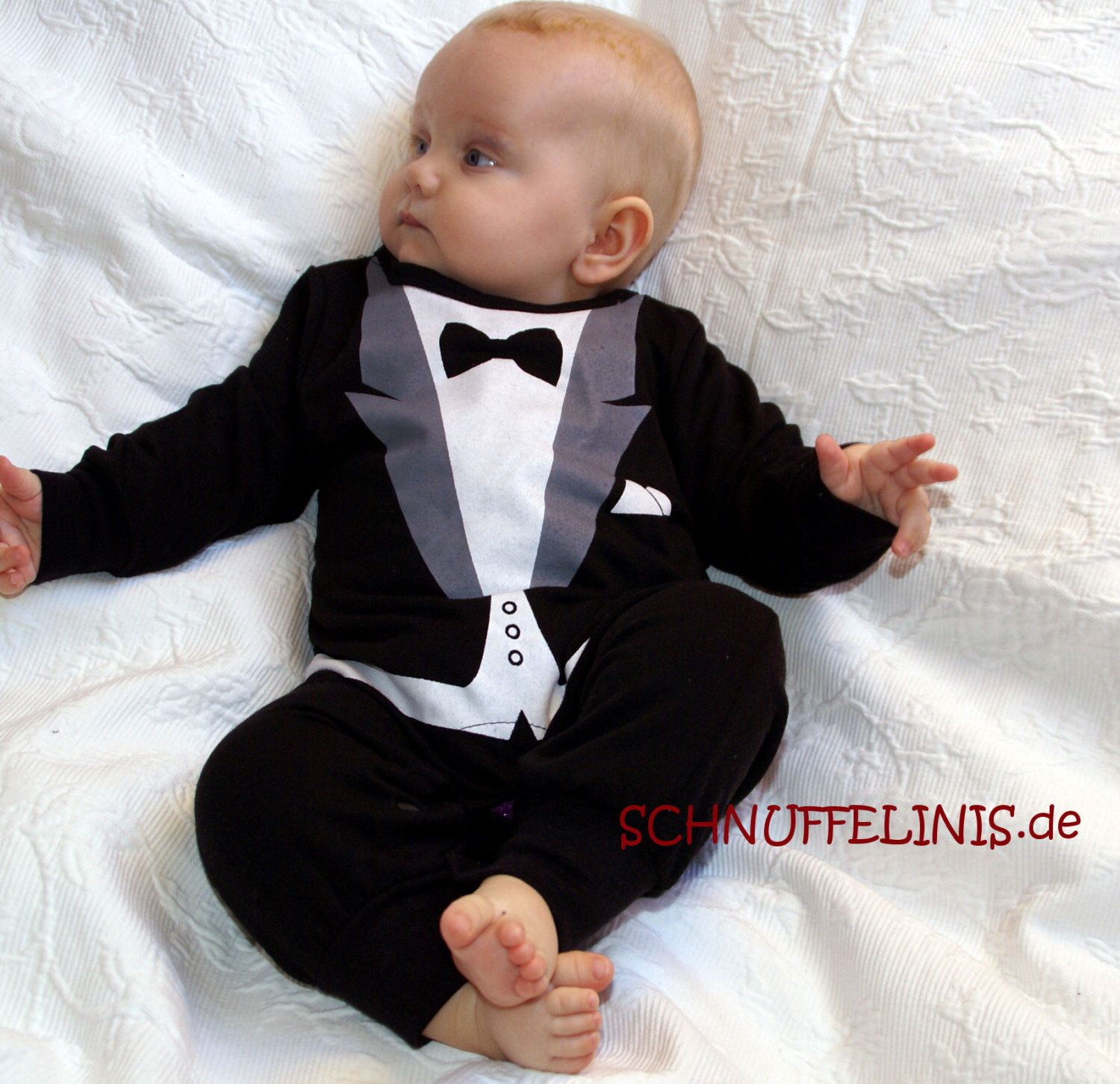 tuxedo onesie - , New Year eve outfit, Party outfit, Baby 1st ...