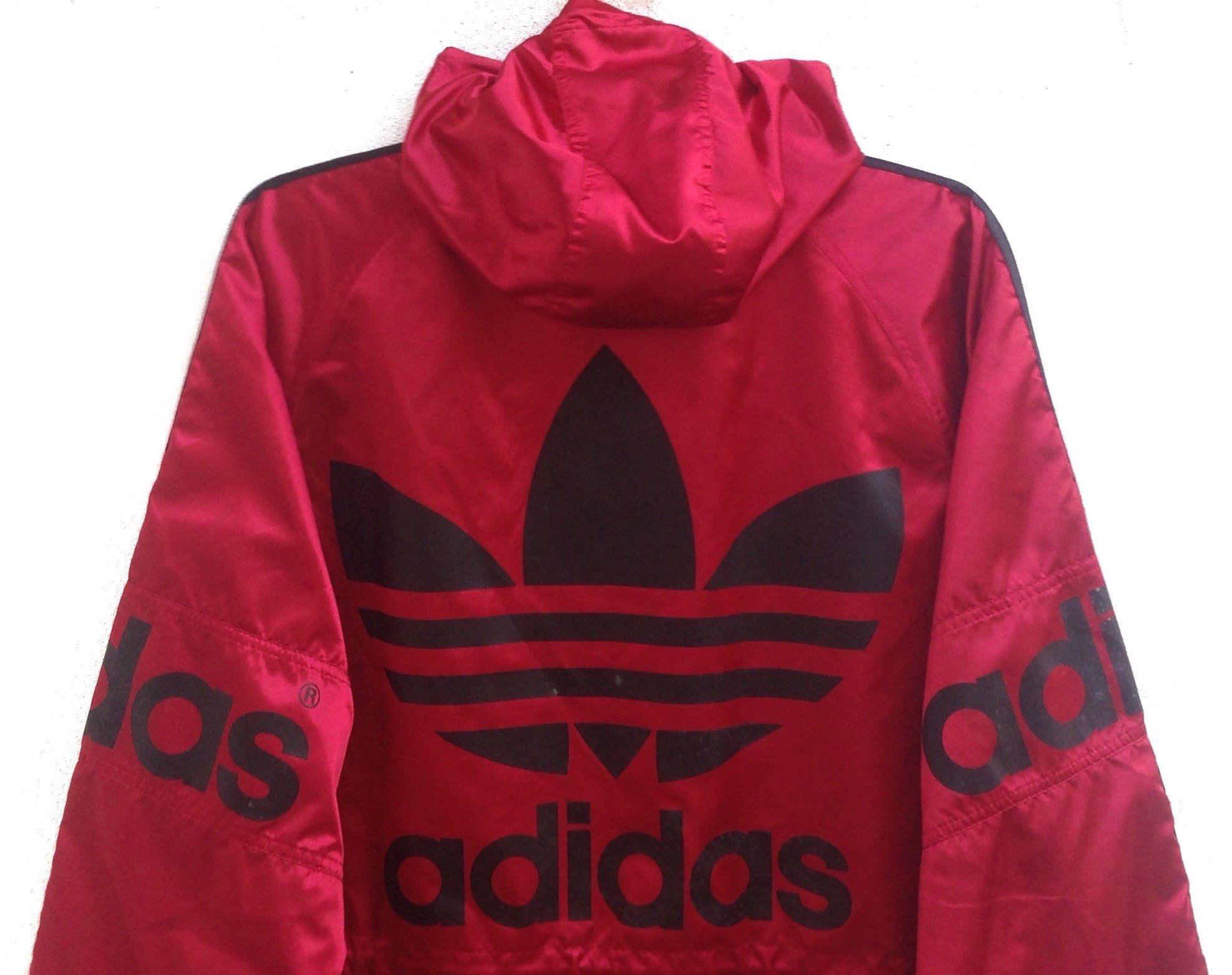 33e05e9c79d7b Vintage 90s Adidas Hoodie Jackets Adidas x Descente Windbreaker ...