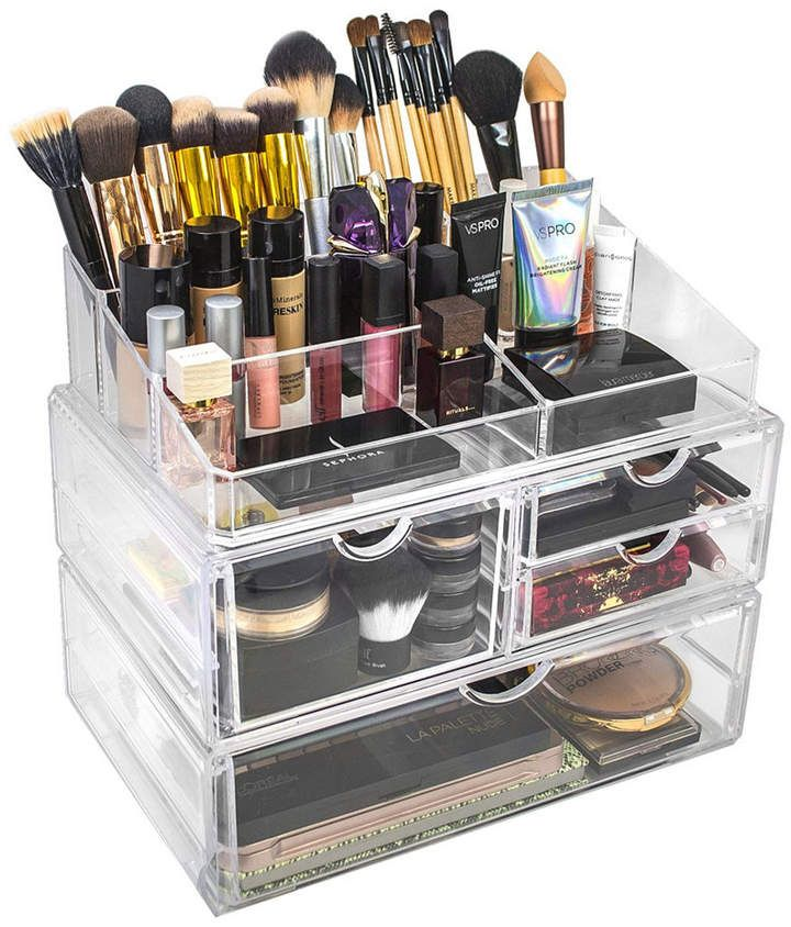 Sorbus Cosmetics Makeup and Jewelry Storage Case Display Sets - Style 1 & Reviews - Home - Macy's