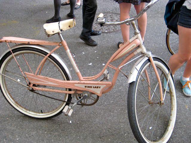 Vintage Pink Lady Bicycle Bicycle Women Vintage Bikes Bike