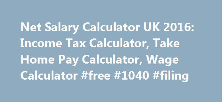 free wage calculator