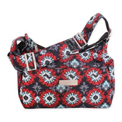 Ju Be Hobobe Sweet Scarlet Diaper Bag In Red