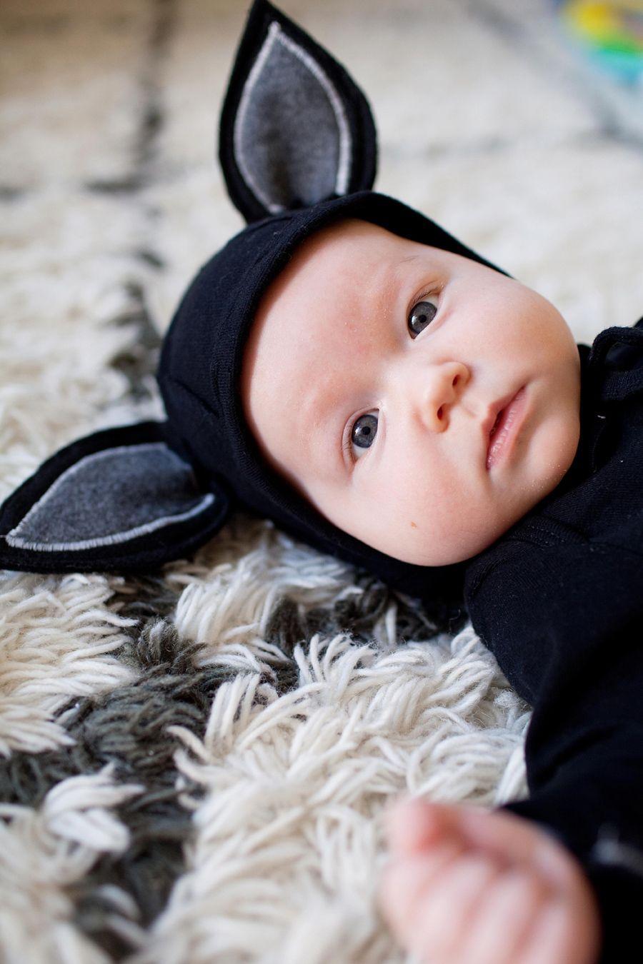 Bat costume   Pinterest: Natalia Escaño #baby #bat #costume