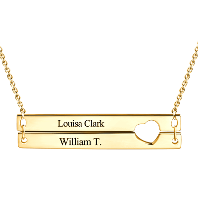 Close To My Heart 10k 4k Gold Personalized Engraved Bar Necklace Adjustable 16 20 Dainty Gold Necklace Gold Bar Necklace Diamond Choker Necklace