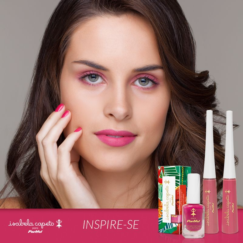 Make pink tem tudo a ver com o verão. #isabelacapeto #panvel