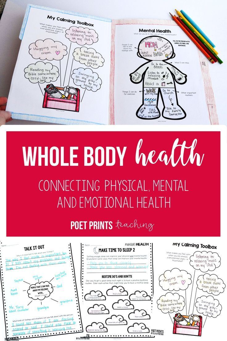 Mental and Physical Health for Elementary, Distance ...